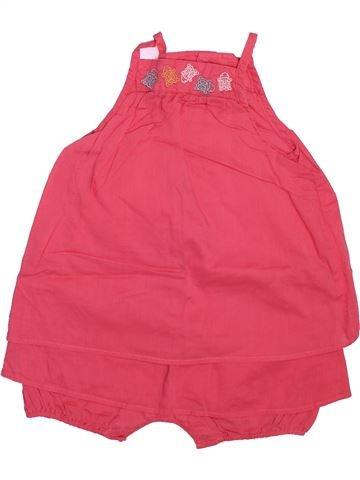 Combinación larga niña OKAIDI rosa 6 meses invierno #1509798_1