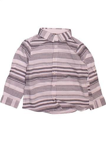 Chemise manches longues garçon ORCHESTRA gris 18 mois hiver #1509998_1