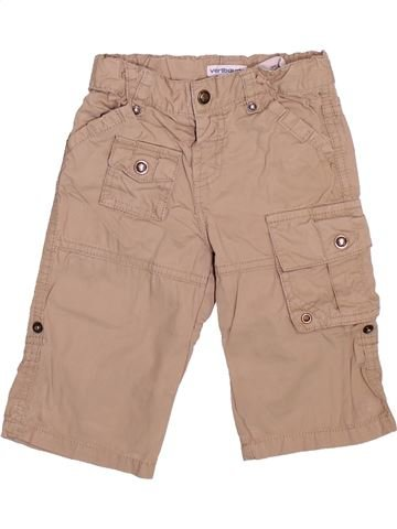 Pantalon garçon VERTBAUDET rose 12 mois été #1510019_1