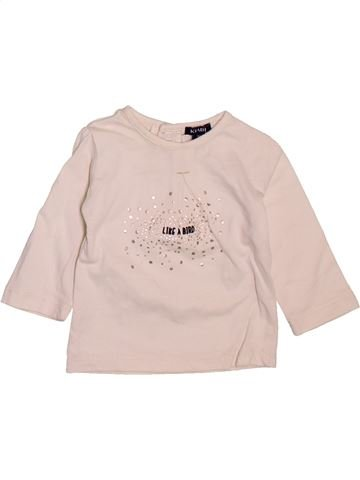 Camiseta de manga larga niña KIABI violeta 3 meses invierno #1510126_1