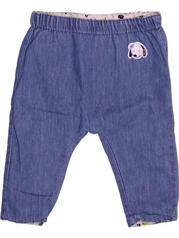 Pantalón niña LA COMPAGNIE DES PETITS azul 3 meses verano #1510128_1