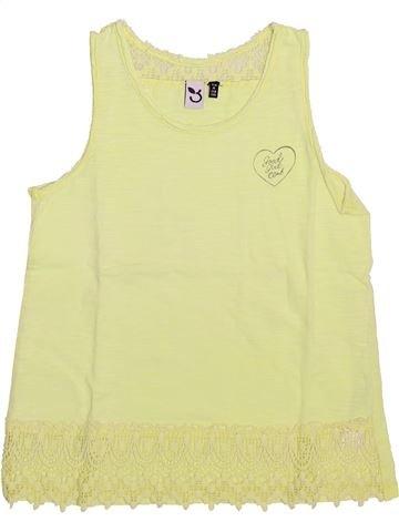 T-shirt sans manches fille 3 POMMES vert 8 ans été #1510419_1