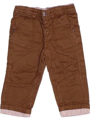 Pantalon garçon TAPE À L'OEIL marron 6 mois hiver #1510519_1