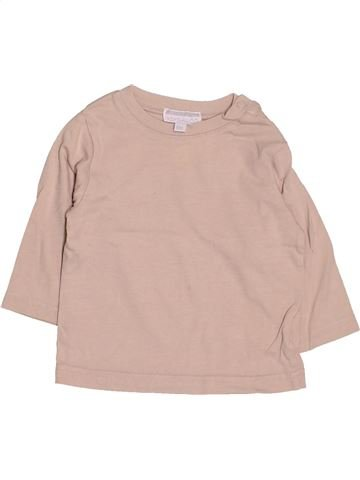 T-shirt manches longues garçon KIMBALOO beige 6 mois hiver #1510527_1