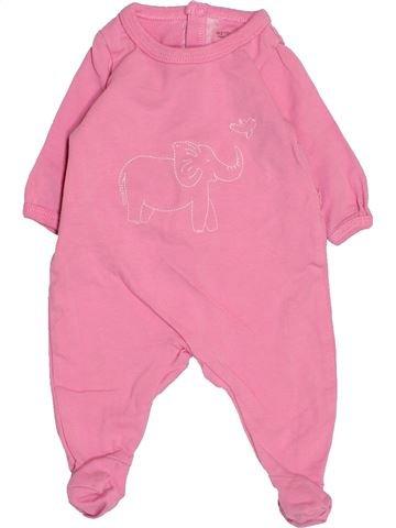 Pyjama 1 pièce fille NATALYS rose naissance été #1510569_1
