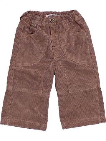 Pantalon garçon TAPE À L'OEIL violet 6 mois hiver #1510571_1