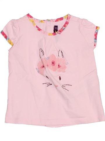 Camiseta de manga corta niña SERGENT MAJOR rosa 9 meses verano #1510689_1