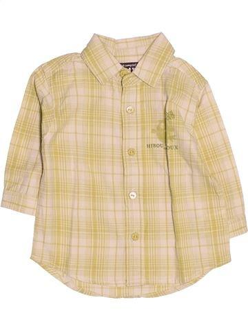 Chemise manches longues garçon TOUT COMPTE FAIT beige 6 mois hiver #1510722_1