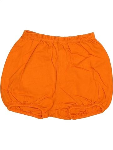 Short - Bermuda fille DPAM orange 18 mois été #1510879_1