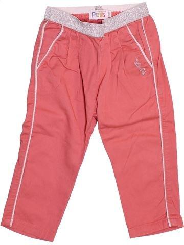Pantalon fille LA COMPAGNIE DES PETITS rose 12 mois été #1510883_1