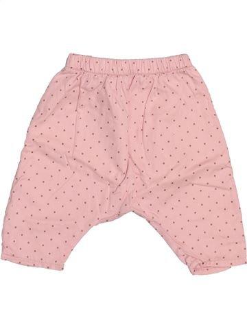 Pantalon fille KIABI rose 3 mois hiver #1510912_1