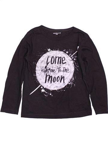 T-shirt manches longues garçon MONOPRIX noir 8 ans hiver #1511399_1