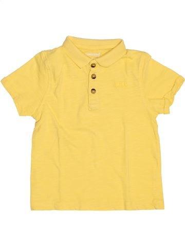 Polo manches courtes garçon ORCHESTRA jaune 4 ans été #1511607_1