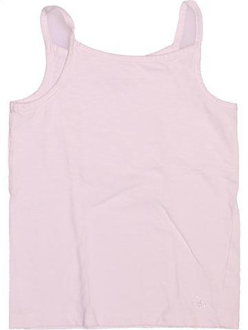 T-shirt sans manches fille ORCHESTRA rose 6 ans été #1511655_1