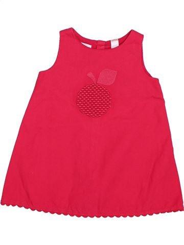 Robe fille OBAIBI rouge 6 mois été #1511919_1