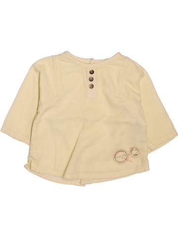 Blusa de manga larga niña BRIOCHE amarillo 3 meses invierno #1511924_1