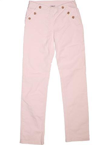 Pantalon fille CYRILLUS rose 12 ans été #1511982_1