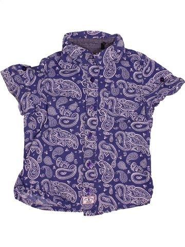Chemise manches courtes garçon IKKS bleu 3 ans été #1512000_1