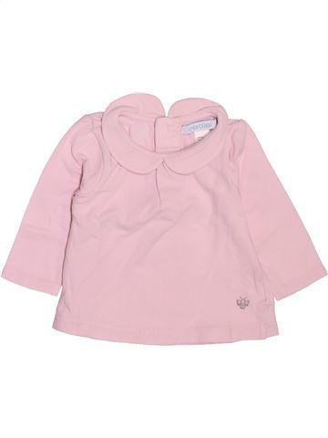 Camiseta de manga larga niña OBAIBI rosa 3 meses invierno #1512237_1