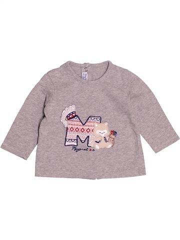 T-shirt manches longues garçon MAYORAL rose 3 mois hiver #1512612_1