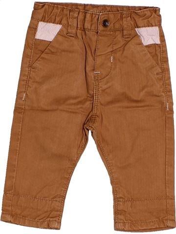 Pantalon garçon OKAIDI marron 3 mois hiver #1512722_1