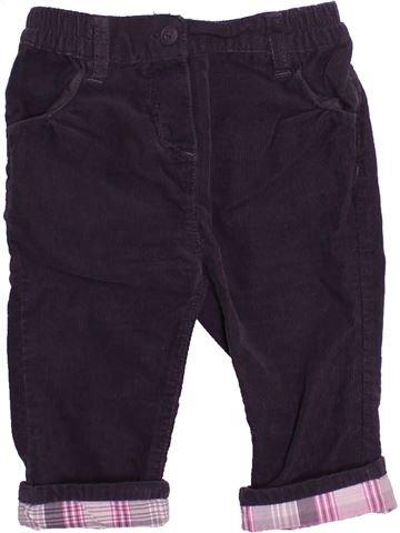 Pantalon garçon OKAIDI noir 12 mois hiver #1512849_1