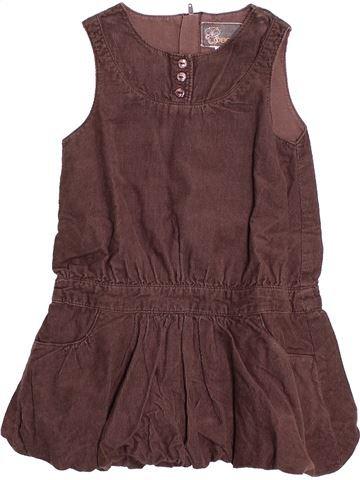 Robe fille OKAIDI violet 2 ans hiver #1513052_1