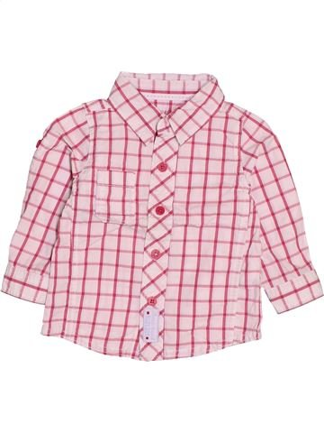 Chemise manches longues garçon TAPE À L'OEIL rose 12 mois hiver #1513206_1