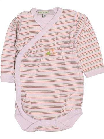 T-shirt manches longues garçon PREMAMAN violet 3 mois hiver #1513425_1