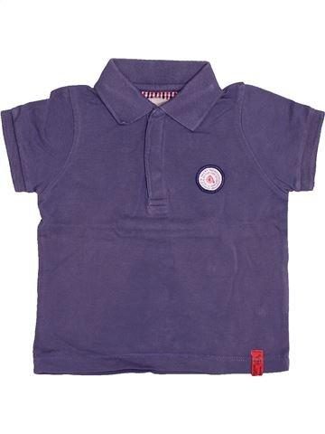 5003dfc849f17 Polo manches courtes garçon JODHPUR violet 12 mois été  1513698 1