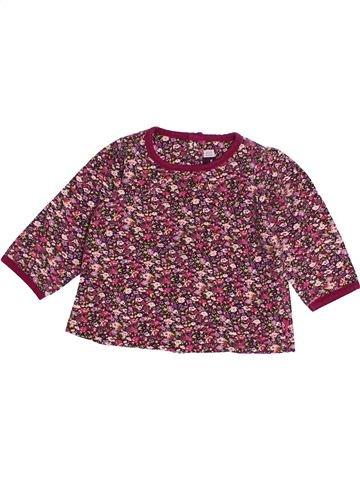 T-shirt manches longues fille SERGENT MAJOR violet 6 mois hiver #1514119_1