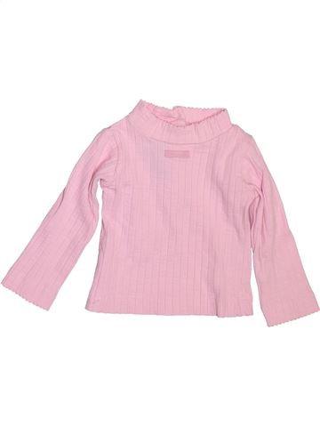 Camiseta de cuello alto niña LILI GAUFRETTE violeta 6 meses invierno #1514556_1