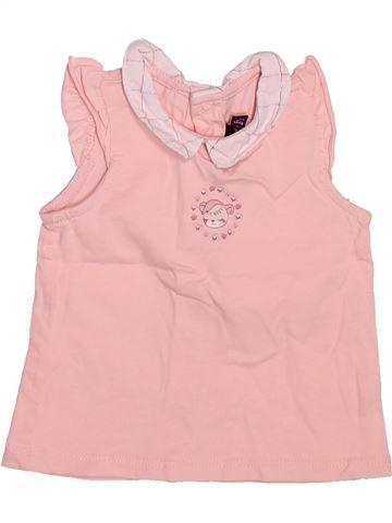 T-shirt sans manches fille SERGENT MAJOR rose 6 mois été #1514558_1