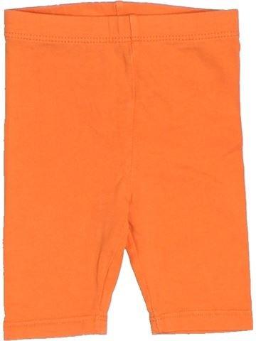 Short - Bermuda fille OKAIDI orange 6 mois été #1515975_1