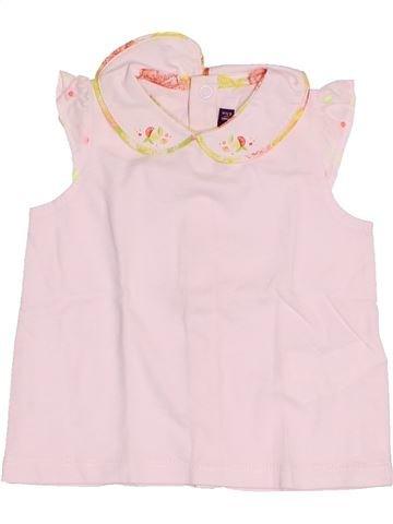 T-shirt sans manches fille SERGENT MAJOR rose 6 mois été #1517059_1