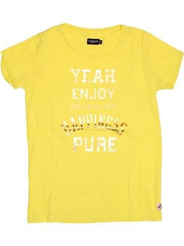 T-shirt manches courtes fille MC GREGOR jaune 14 ans été #1517627_1