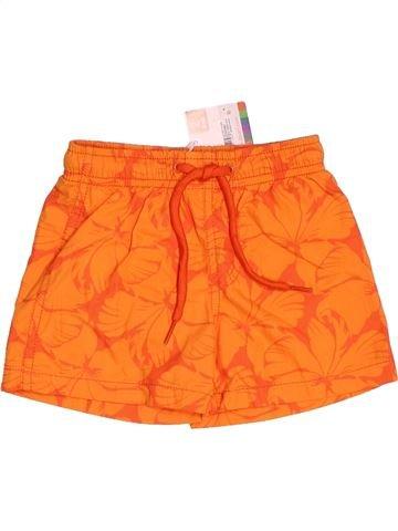 Maillot de bain garçon DPAM orange 2 ans été #1517935_1