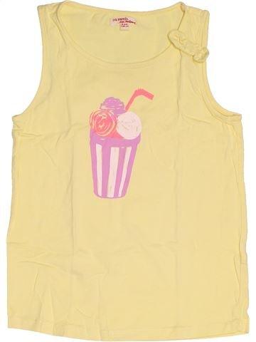 T-shirt sans manches fille DPAM beige 8 ans été #1518734_1