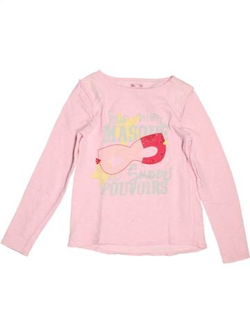 Sweat fille DPAM rose 12 ans hiver #1519417_1