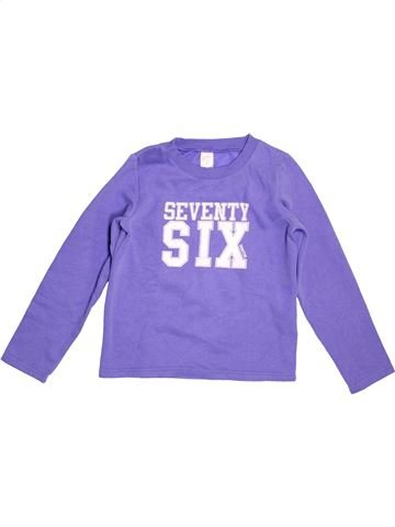 Sweat fille DOMYOS violet 8 ans hiver #1519506_1