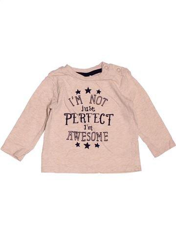 Camiseta de manga larga niño F&F violeta 6 meses invierno #1519745_1