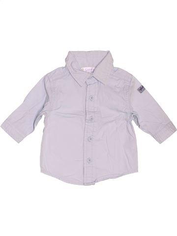 Chemise manches longues garçon KIABI blanc 1 mois hiver #1519831_1