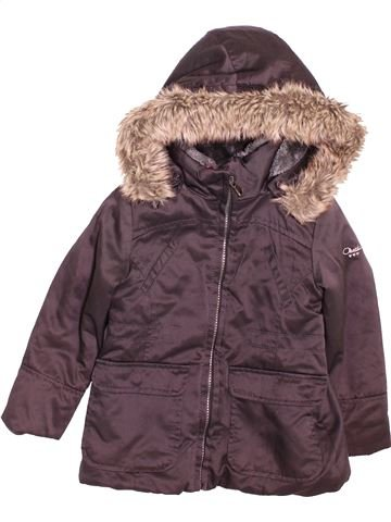 Manteau garçon OKAIDI violet 3 ans hiver #1519997_1