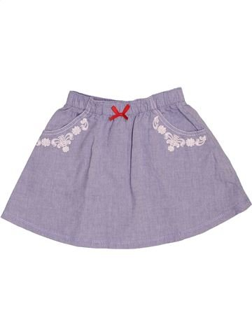 Jupe fille KIABI violet 4 ans été #1520113_1