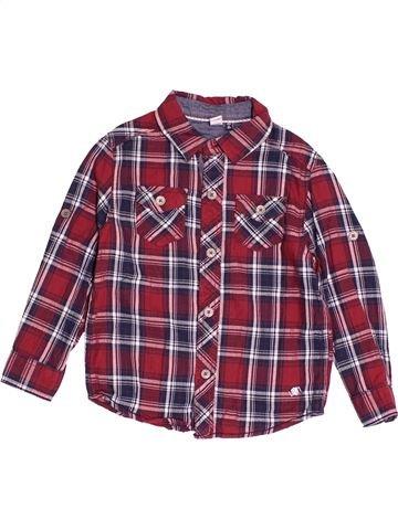 Camisa de manga larga niño 3 POMMES violeta 4 años invierno #1520644_1