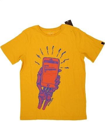 T-shirt manches courtes garçon QUIKSILVER jaune 10 ans été #1520995_1