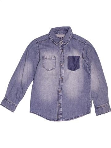 Chemise manches longues garçon KIABI bleu 8 ans hiver #1521058_1