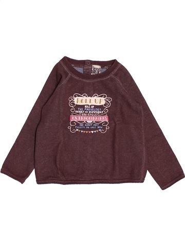 T-shirt manches longues garçon TAPE À L'OEIL marron 2 ans hiver #1521089_1