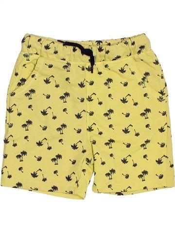 Short - Bermuda garçon LH BY LA HALLE jaune 4 ans été #1521242_1