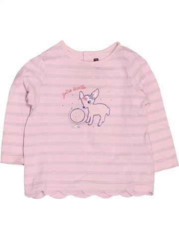 T-shirt manches longues fille SERGENT MAJOR rose 18 mois hiver #1521603_1